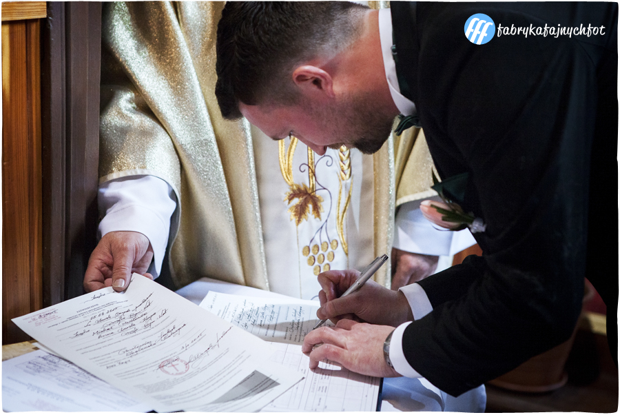 fotoreportaż ślubny Częstochowa