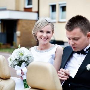 wyjazd do ślubu Pary Młodej