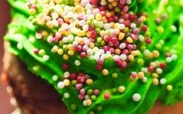 zielone babeczki