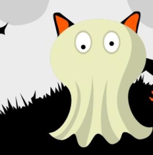 halloween'owy grubyczarnykot
