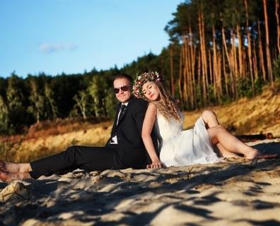 MARTYNA i DOMEL – fotoreportaż ślubny Starachowice