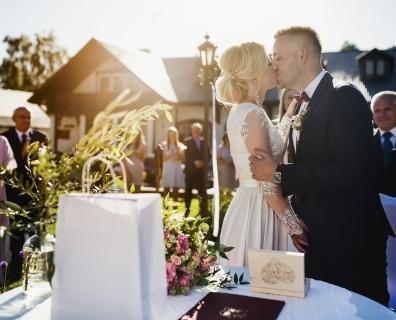 Anna i Łukasz – fotoreportaż ślubny Masłów