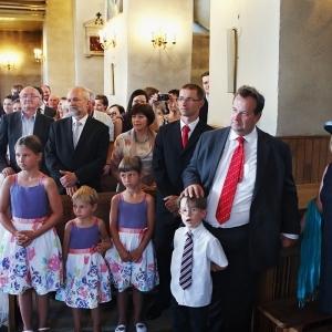 ceremonia ślubu Chęciny